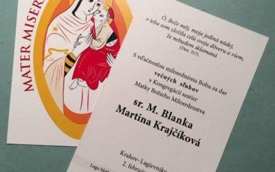 Le immagini della Madre dell'Elemosina per eventi ecclesiali in Polonia e Brasile.