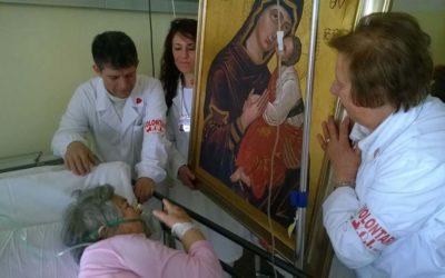 Domani visita dell'Icona della Madonna dell'Elemosina all'Ospedale di Biancavilla.