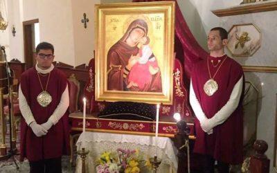 La Madonna dell'Elemosina pellegrina a Ognina – Catania