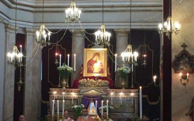 L'Icona della Madonna dell'Elemosina a Catania, al ritiro diocesano dei Ministranti