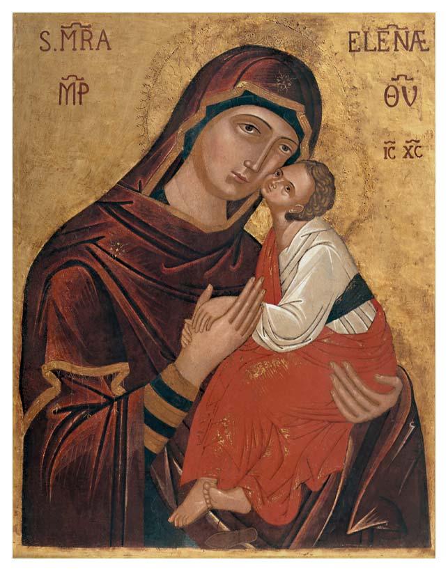 icona Maria SS. dell'Elemosina Biancavilla