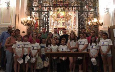 Alunni dell'Erasmus di cinque Paesi visitano la Basilica Santuario di S. Maria dell'Elemosina.