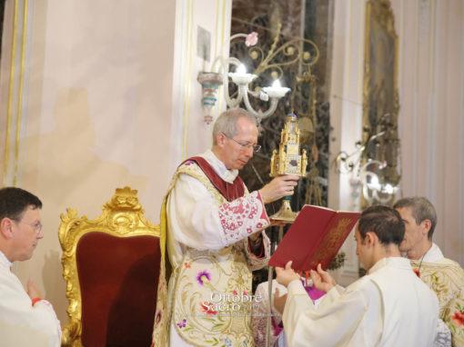 Festa del Patrocinio di Maria SS. dell'Elemosina – Celebrazione eucaristica presieduta da Mons. Guido Marini