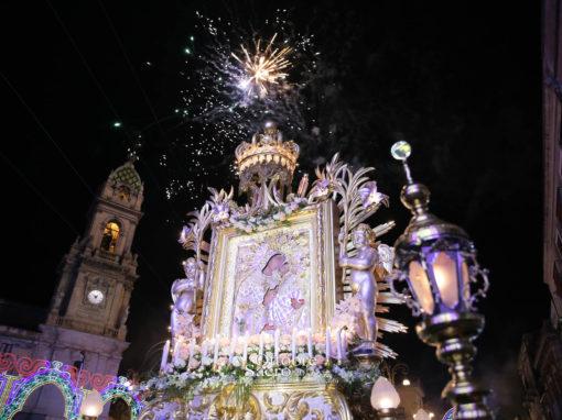 Processione dell'Icona di Maria SS. dell'Elemosina e del Reliquiario della Madonna delle Lacrime