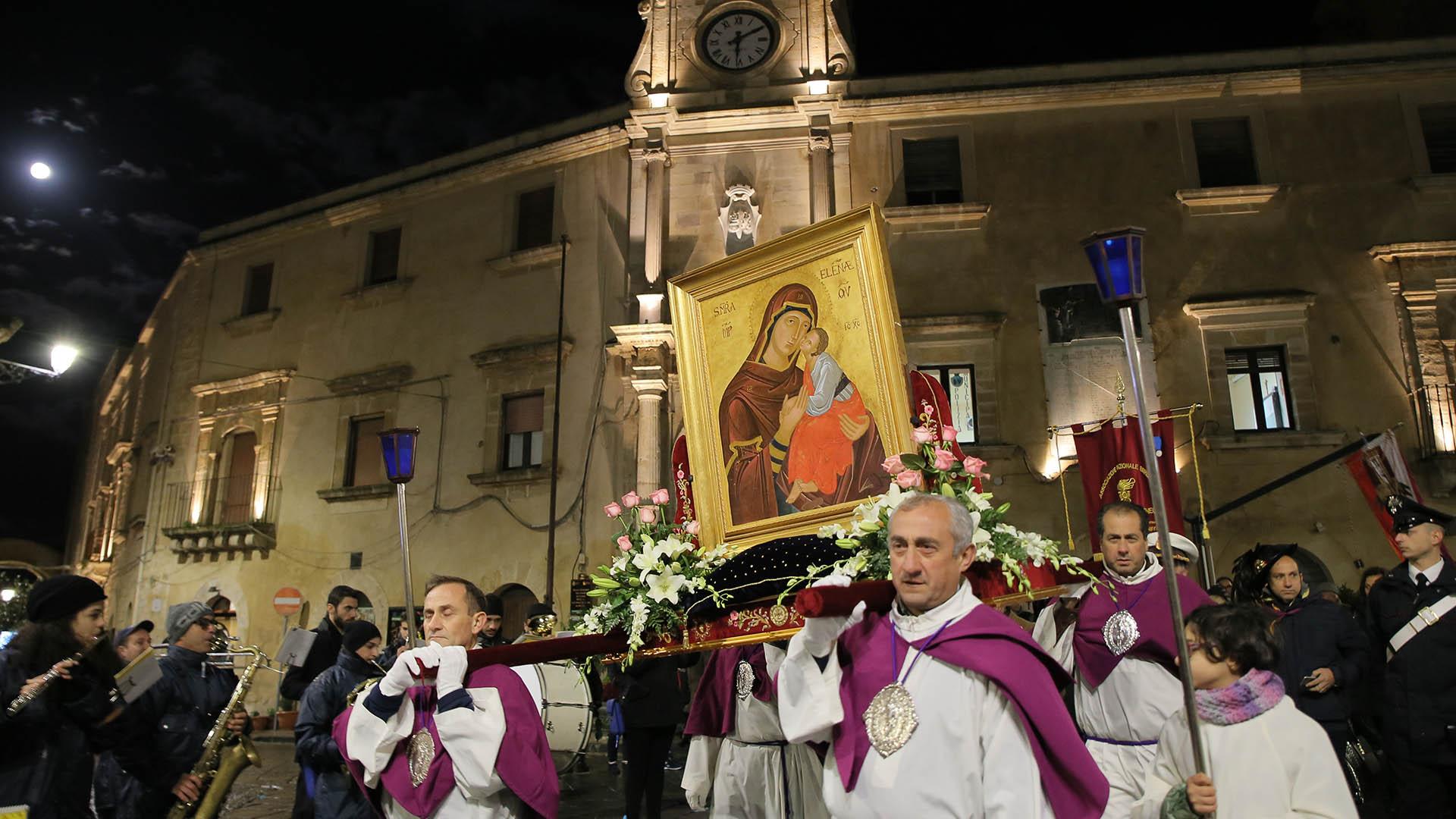 Missione Della Misericordia A Mineo Con La Madonna Dellelemosina