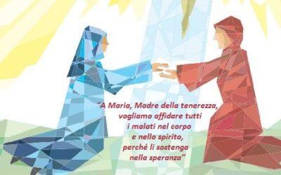 Giornata del Malato all'ospedale di Biancavilla con l'Icona della Madonna dell'Elemosina