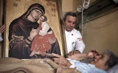 La Madre dell'Elemosina visita l'Ospedale di Biancavilla nella XXVI Giornata del Malato