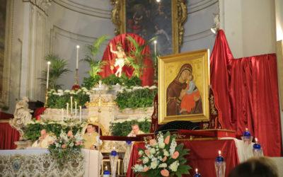 La Madonna dell'Elemosina in pellegrinaggio a Catania