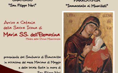 """La Madonna dell'Elemosina torna a Catania per """"abbracciare"""" il Popolo dei """"Minoritelli"""""""