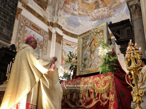 La Madonna dell'Elemosina nella Cattedrale di Catania