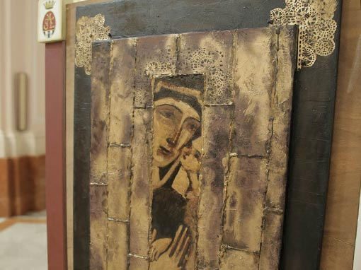 Inaugurazione della mostra The Sacred
