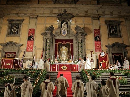 Solennità di Maria SS. dell'Elemosina – Celebrazione Eucaristica Pontificale e processione dell'Icona