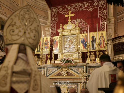 Celebrazione Eucaristica presieduta da S. E. Rev.ma Mons. Pio Vittorio Vigo