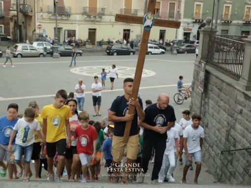 """Pellegrinaggio dei giovani e degli educatori dell'Oratorio """"S. Filippo Neri"""" di Catania"""