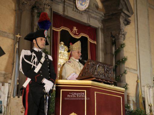Celebrazione eucaristica pontificale presieduta da S. E. Mons. Rino Fisichella