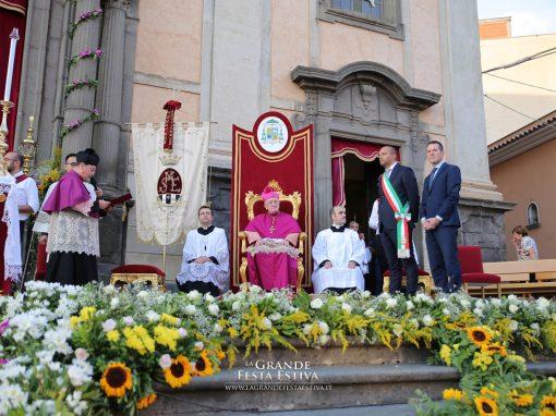 Accoglienza di S. E. Mons. Giuseppe Sciacca