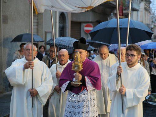 Accoglienza del Reliquiario della Madonna delle Lacrime