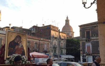 Conclusa ieri la peregrinatio della Madonna dell'Elemosina a Catania