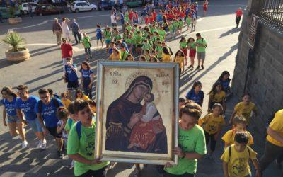 Pellegrinaggio mariano dei Giovanissimi del Grest