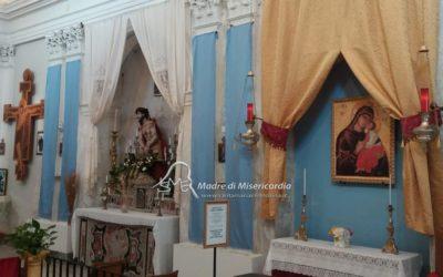 Nuovo altare della Madonna dell'Elemosina a Catania