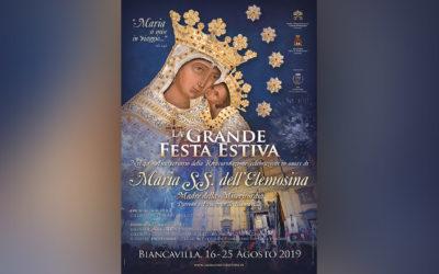 LA GRANDE FESTA ESTIVA 2019: IL MANIFESTO