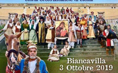 UN'ICONA ALL'ORIGINE DI BIANCAVILLA