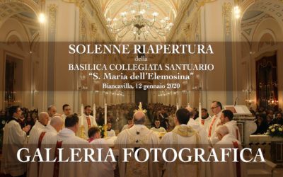 Solenne celebrazione per la riapertura della Basilica di Biancavilla