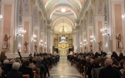 """Solenne riapertura della Basilica Santuario """"Maria SS. dell'Elemosina""""."""