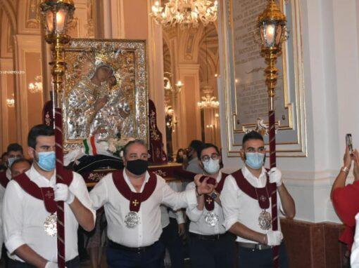 S. Messa solenne in onore della Vergine dell'Elemosina