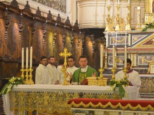 Giornata di preghiera per le Vocazioni nel 25° di sacerdozio del Prevosto, don Agrippino Salerno