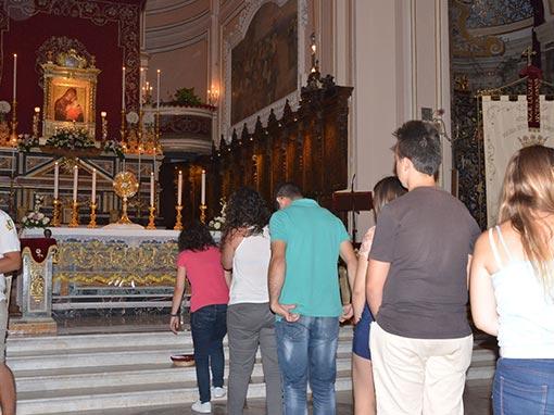 Giornata di preghiera per i giovani
