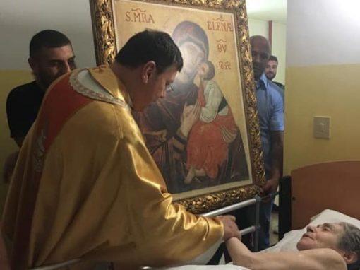 """Giornata di preghiera per gli Ammalati – Visita agli ospiti dell'Opera Cenacolo """"Cristo Re"""""""