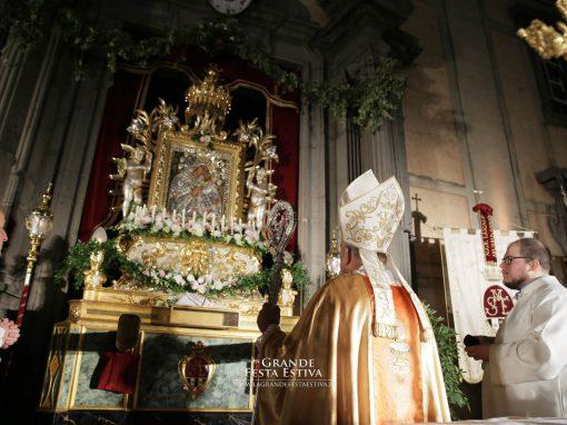 Celebrazione Eucaristica Pontificale presieduta da S. E. Rev.ma Mons. Salvatore Gristina