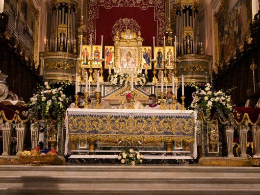 Solennità di Maria SS. dell'Elemosina. Solenne Pontificale