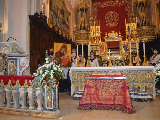 Solennità di Maria SS. dell'Elemosina. Vestizione pubblica dell'Icona
